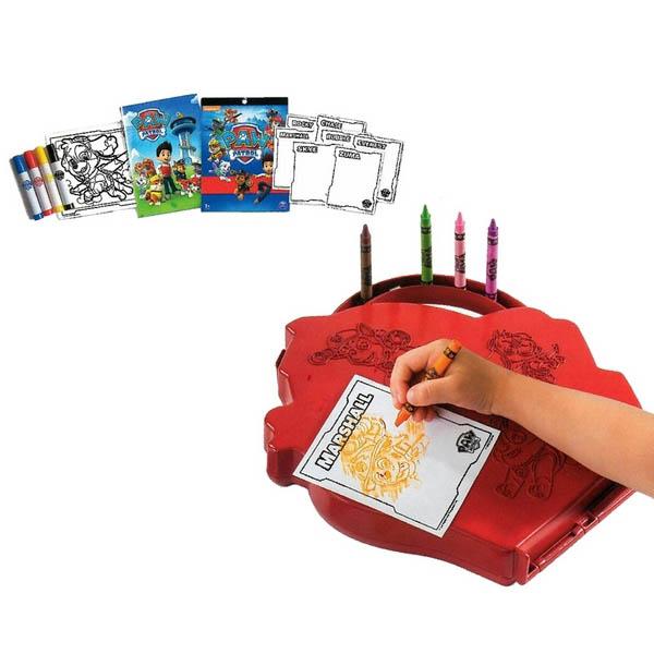 Škatla z aktivnostmi za barvanje Paw Patrol Bizak