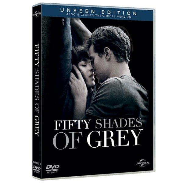 The Unseen Edition DVD Fifty Shades of Grey 2210