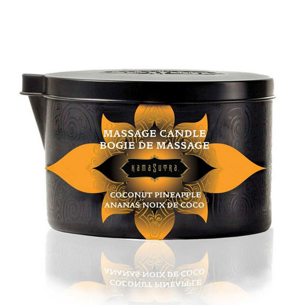 Massage Candle Coconut Pineapple Kama Sutra 10227