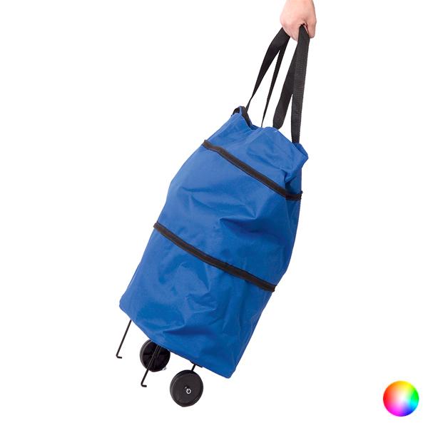 Nakupovalni voziček Zložljiv 143229 - Rumena