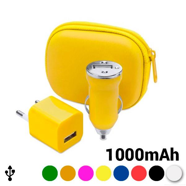 Set di Caricabatterie (2 Pcs) 1000 mAh 144331