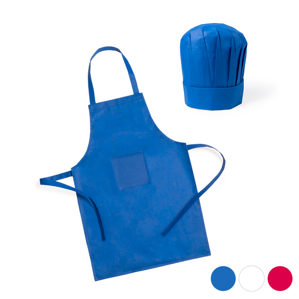 Children's Kitchen Apron and Hat (2 pcs) 144754