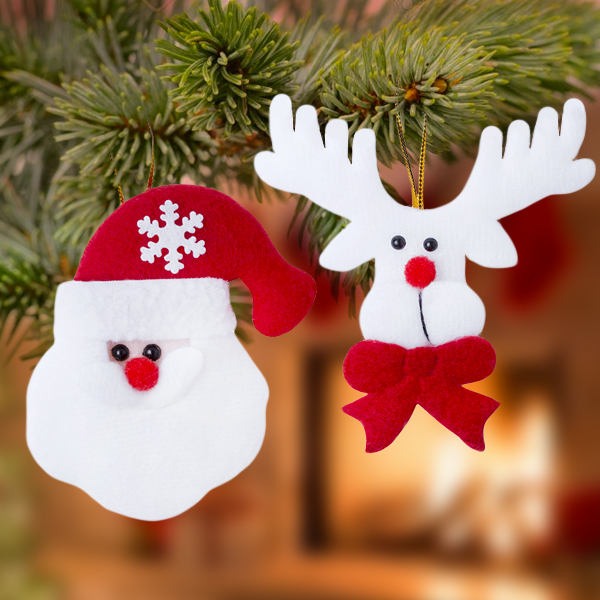 Christmas Decorations Set (2 pcs) 145105