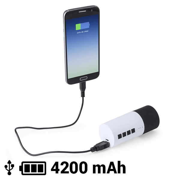 Bluetooth Speaker Power Bank 4200 mAh 3W 145161