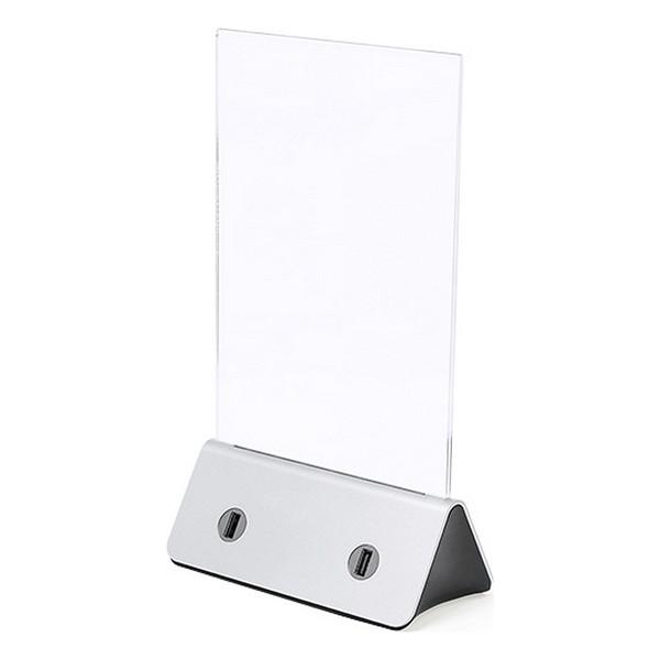Photo holder with Power Bank 10000 mAh USB