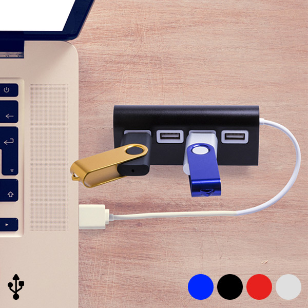 4-Port USB Hub 145201