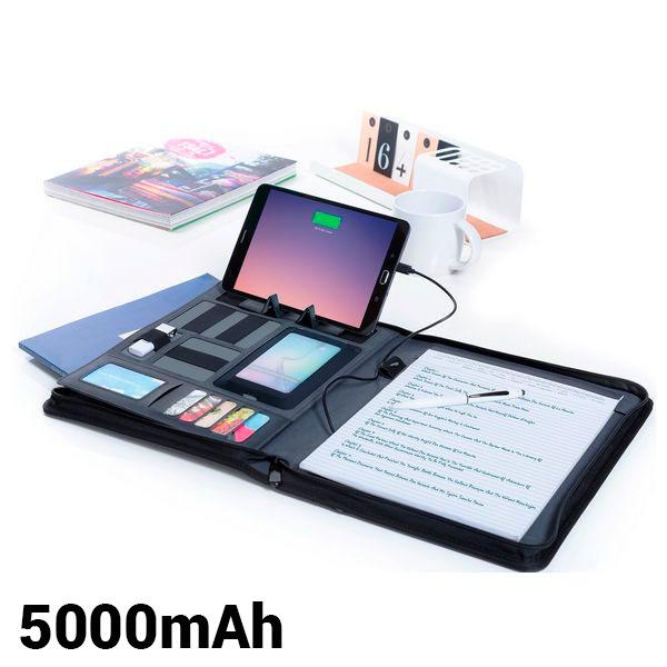Carpeta Power Bank 5000 mAh 145220