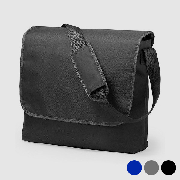 Document Holder with Flap and Shoulder Strap 145233