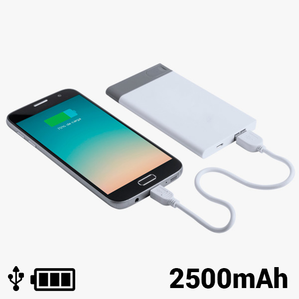 Power Bank con USB Extraíble 2500 mAh 8 GB 145242