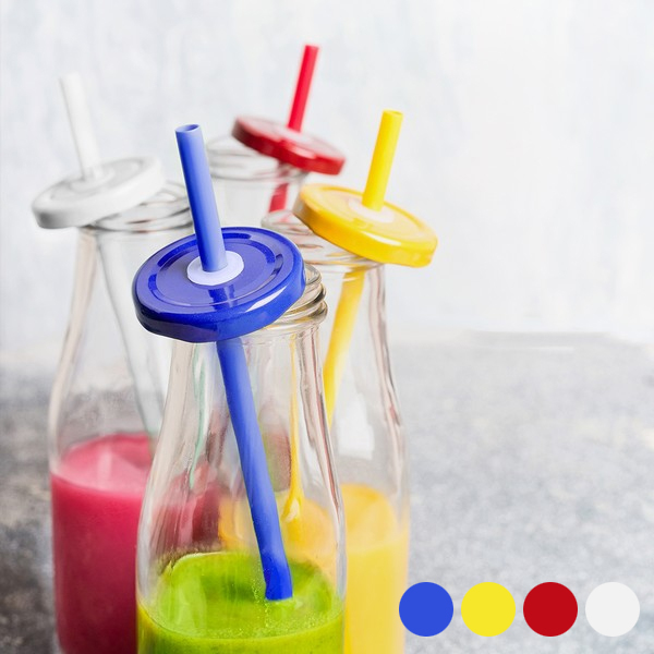 Bottle with Lid and Straw (320 ml) 145495