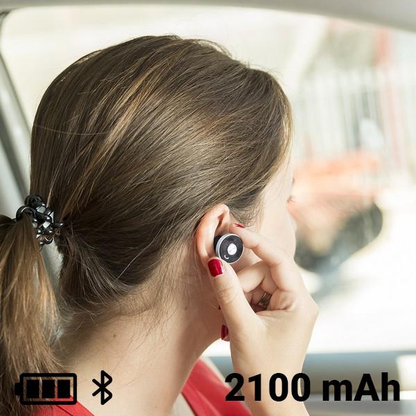 Cargador USB para Coche con Auricular Manos Libres 2100 mAh Bluetooth 145527