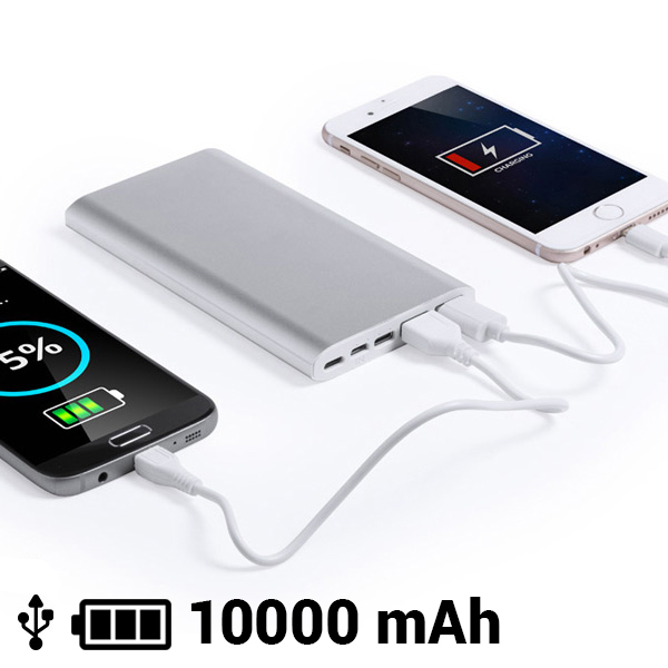 Power Bank 10000 mAh Micro USB Lightning USB Type-C 145537