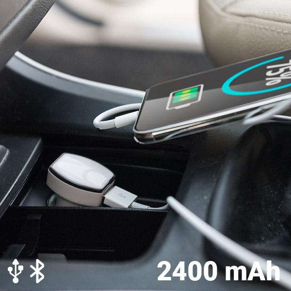 Cargador USB con GPS para Coche 2400 mAh 145823