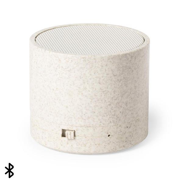 Altavoz Bluetooth 3W 146540 Caña de trigo Abs