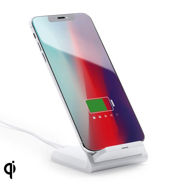 Cargador Inalámbrico para Smartphones Qi 10W 146544 (7 x 10,9 x 8,5 cm)