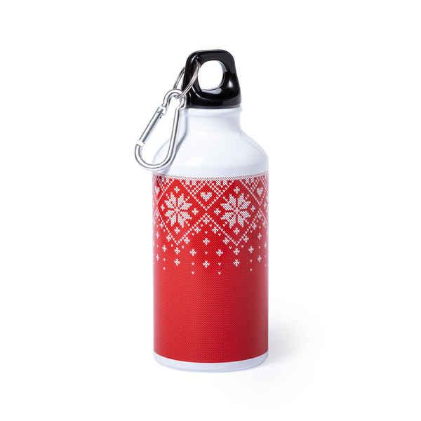 Aluminium Bottle 146664 Christmas Red (400 ml)