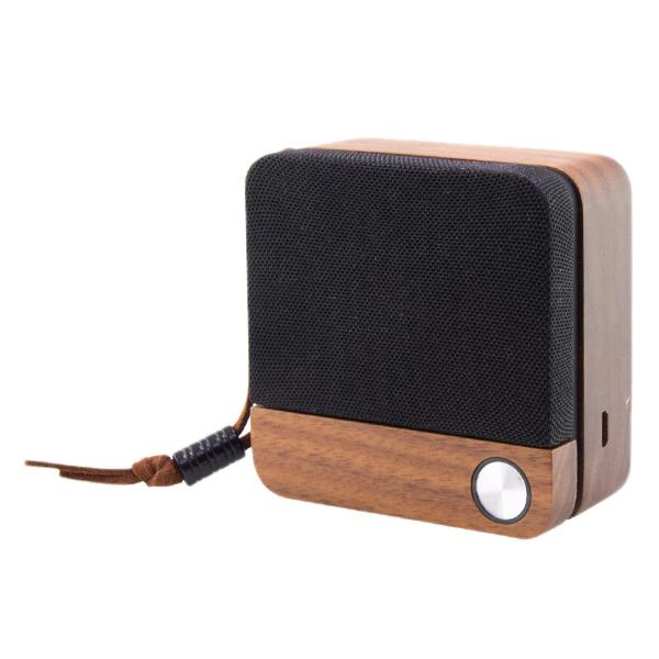Altavoz Bluetooth Inalámbrico Eco Speak KSIX 400 mAh 3.5W Madera