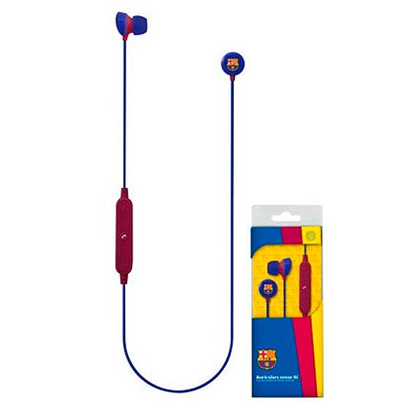 Auriculares Bluetooth Deportivos con Micrófono F.C. Barcelona Azul