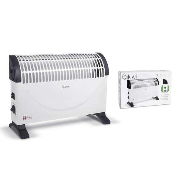 Electric Convection Heater Kiwi KHT-8442 White 1500W