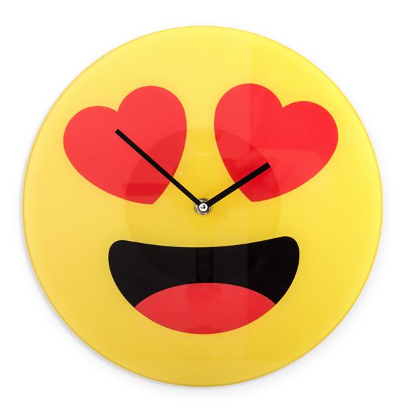 Reloj de Pared Emoticono Corazones Gadget and Gifts (2)