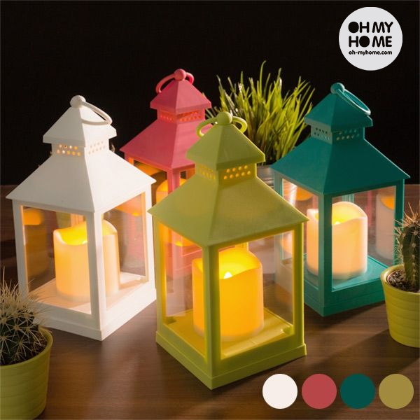 Farol con Vela LED Oh My Home