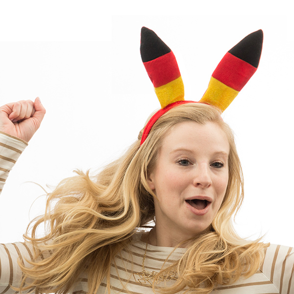 German Flag Headband