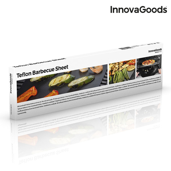 InnovaGoods Teflon Barbecue Sheet (Pack of 2)