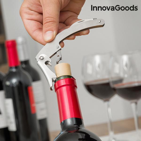 Estuche de Vino Botella InnovaGoods (5 Piezas) (3)