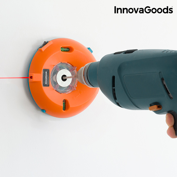 InnovaGoods Dust Collector with Laser for Drill