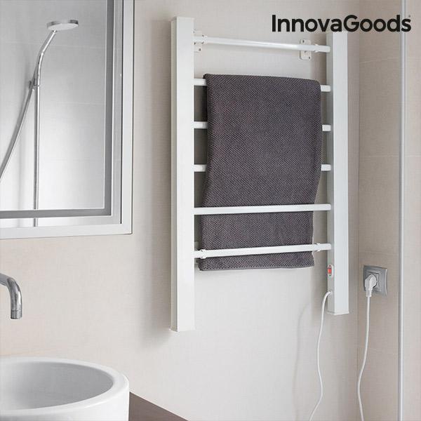 Elektrisk handdukstork InnovaGoods 90W Vit (6 ribbor)