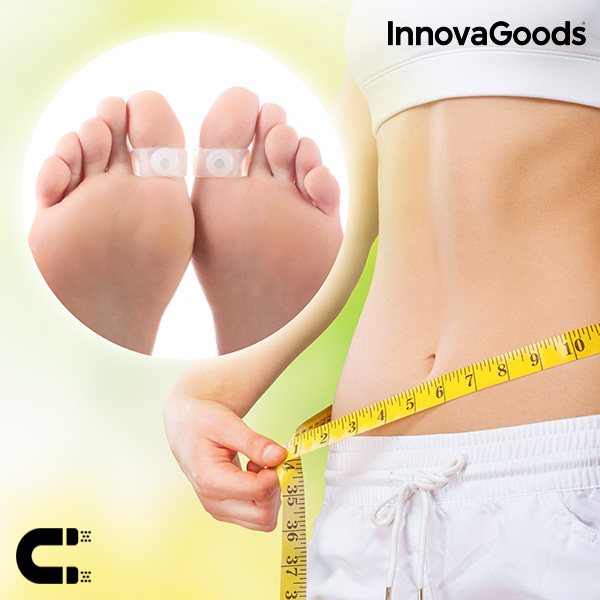 InnovaGoods Magnetic Slimming Rings (Pack of 2)