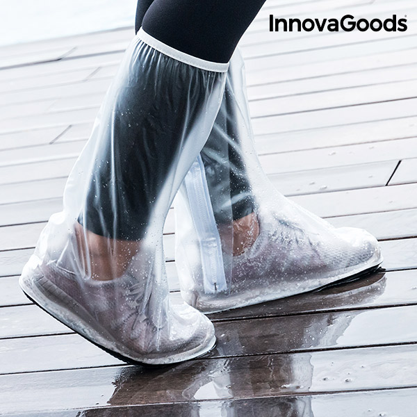 InnovaGoods Pocket Rain Cover for Feet (Pack of 2)