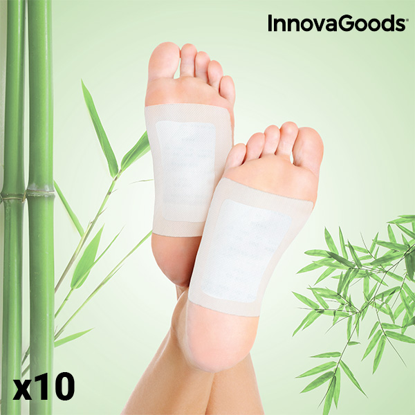 InnovaGoods Detox Foot Patches (Pack of 10)