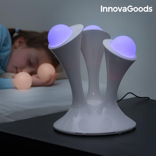 InnovaGoods Multicolour Fluorescent LED Lamp