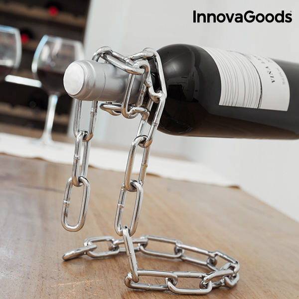 InnovaGoods Kitchen Sommelier Zwevende Ketting Flessenhouder
