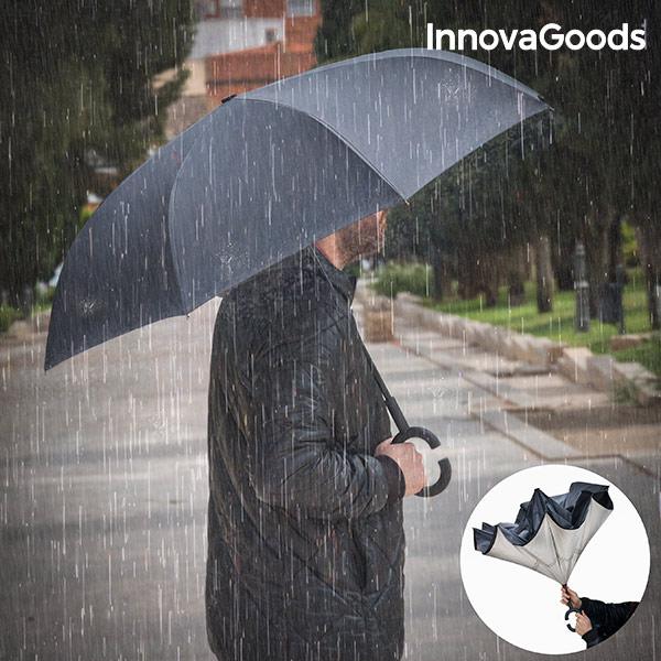 Paraguas de Cierre Inverso InnovaGoods (7)