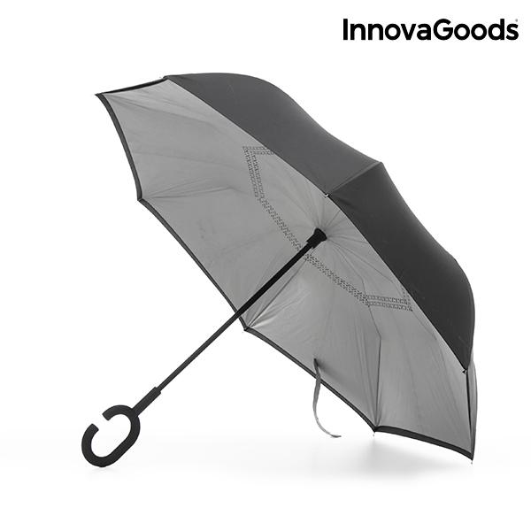 Paraguas de Cierre Inverso InnovaGoods (4)