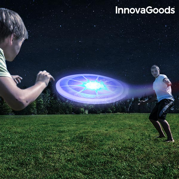 Frisbee con LED Multicolor InnovaGoods