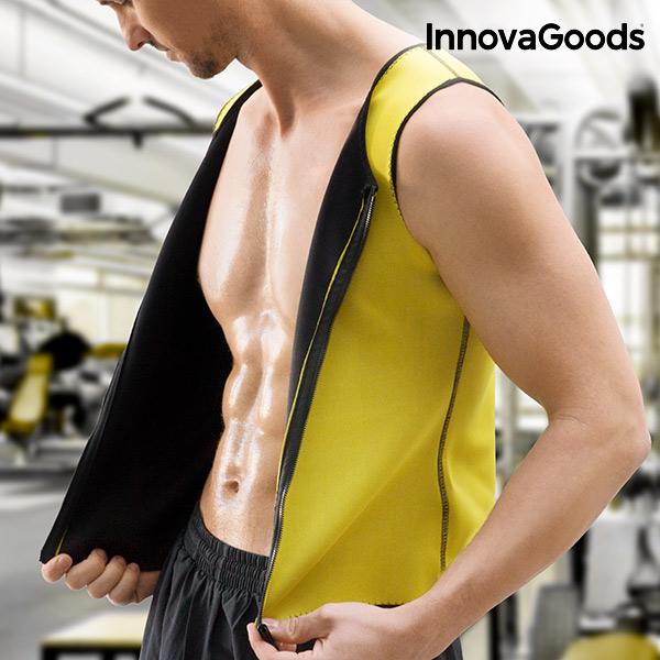InnovaGoods Sauna Sports Vest for Men