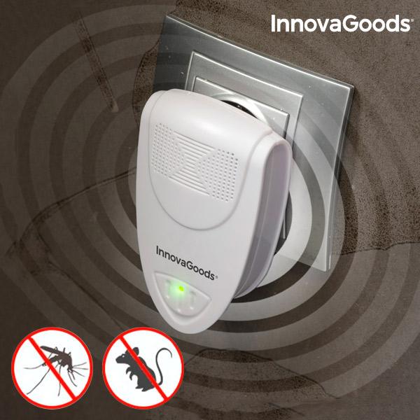 Ultrazvočni Odganjalec Insekta in Majhnih Glodavcev Mini InnovaGoods