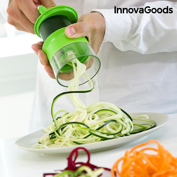 Cortador de Verduras en Espiral Mini Spiralicer InnovaGoods