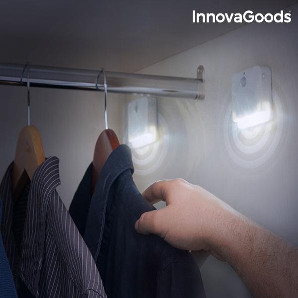 InnovaGoods Motion Sensor LED (Pack of 2)