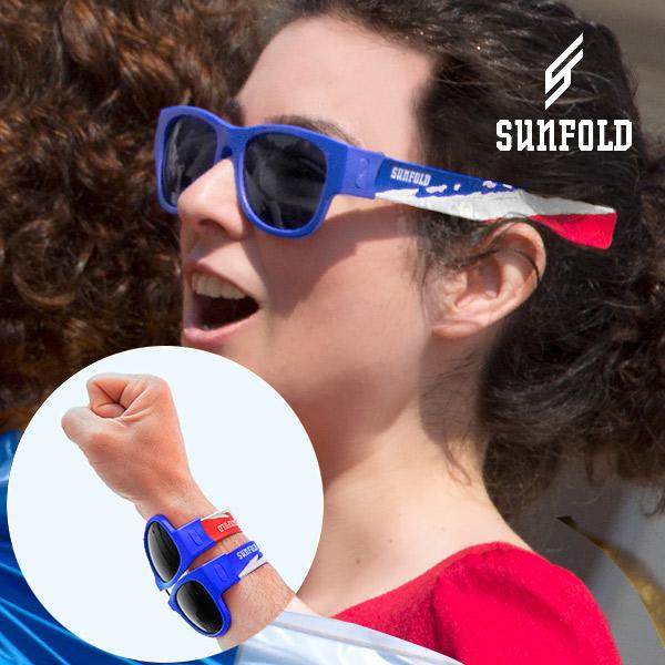 Hoprullbara solglasögon Sunfold VM France