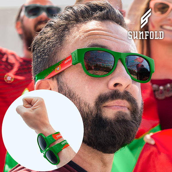 Sunfold World Cup Portugal Hopfällbara Solglasögon