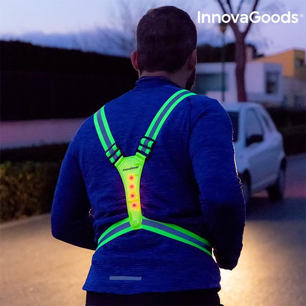 Arnés Reflectante con LED para Deportistas InnovaGoods