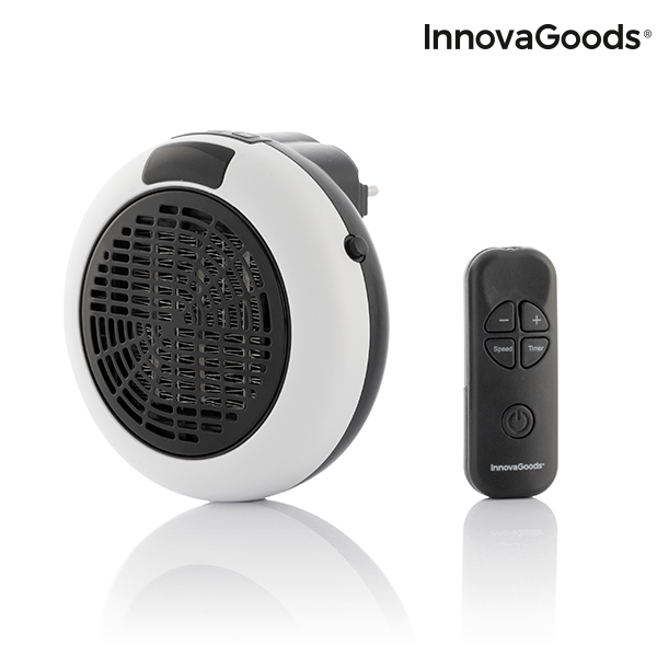 Calefactor Cerámico de Enchufe con Mando a Distancia InnovaGoods 600W (6)