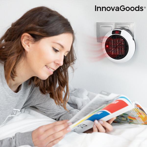 Calefactor Cerámico de Enchufe con Mando a Distancia InnovaGoods 600W (2)
