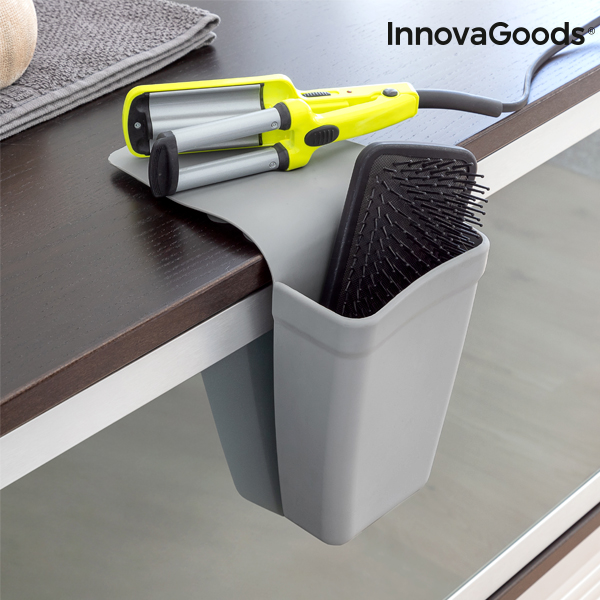 InnovaGoods Silicone Organiser Stand with Suction Cups