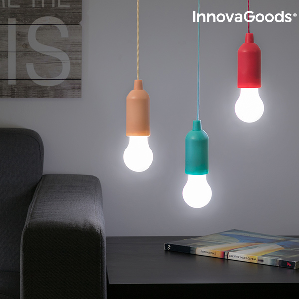 InnovaGoods Portable Corded LED Bulb