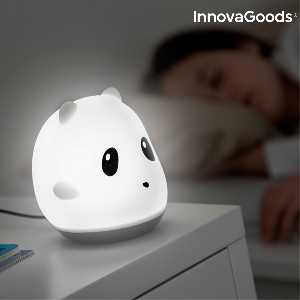 InnovaGoods Rechargeable Silicone Lamp Panda